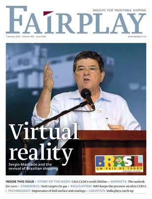 Capa da revista Fairplay